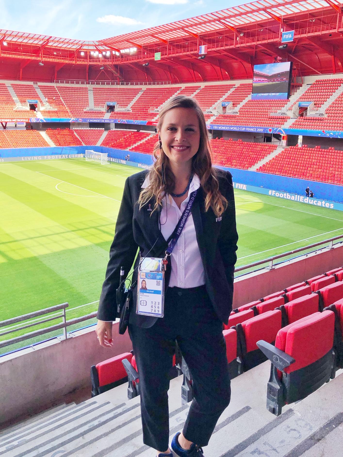 Thayssa Plum, FIFA